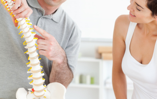chiropractor - spine